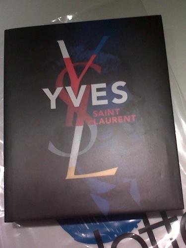 Grand Prix Du Livre De La Mode 2011 Yves Saint Laurent Par